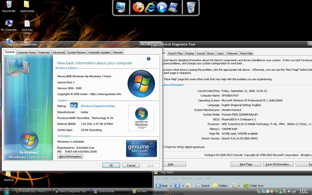 Windows Sp3 XpWin7 Edition 2008